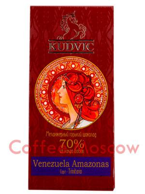 Шоколад Kudvic 70% из какао бобов Venezuela Amazonas