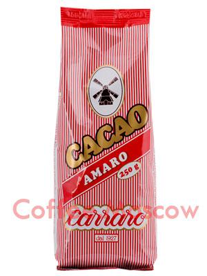 Какао Carraro Cacao Amaro горький 250 гр