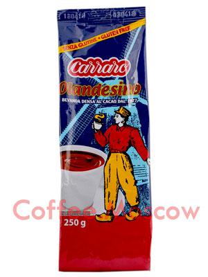 Какао Carraro Cacao Olandesino 250 гр