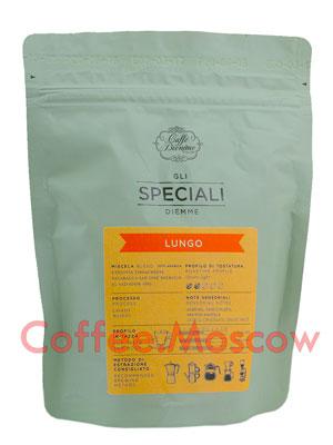 Кофе Diemme в зернах Gli Speciali Lungo Coffee Bland 200 гр
