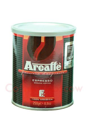 Кофе Arcaffe молотый Espresso 250 гр ж.б