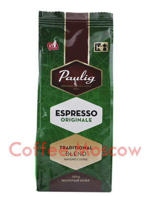 Кофе Paulig Espresso Originale молотый 250 гр