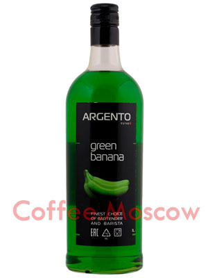 Сироп Argento Зеленый банан 1 л