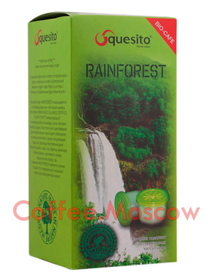 Кофе Squesito в капсулах Rainforest 30 капсул