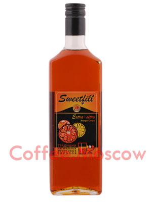 Сироп Sweetfill Экстра-Ситро 0,5 л