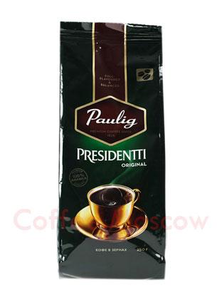 Кофе Paulig Presidentti Original в зёрнах 250 гр