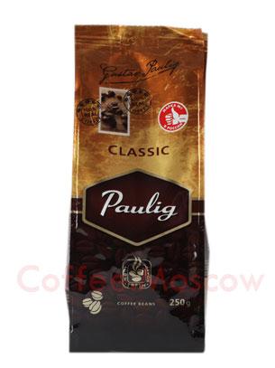 Кофе Paulig Classic в зёрнах 250 гр