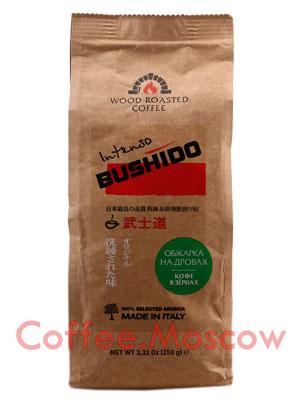 Кофе Bushido в зернах Intenso 250 гр