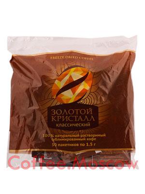 Кофе Золотой Кристалл Классический растворимый 50 шт
