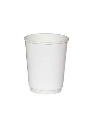 Стакан бумажный Thermo Cup двухслойный 250 мл Белый