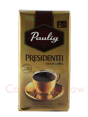 Кофе Paulig Presidentti Gold Label молотый 275 гр