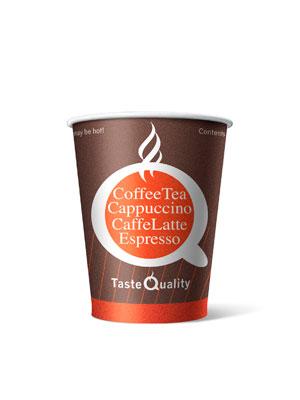 Стакан бумажный одноразовый Taste Quality 150 мл