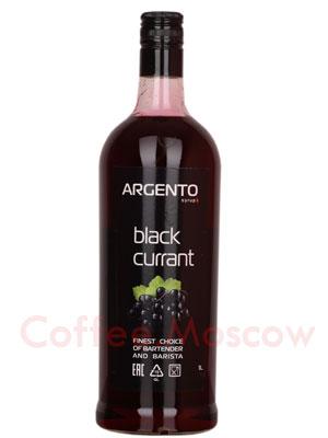 Сироп Argento Черная смородина 1 литр