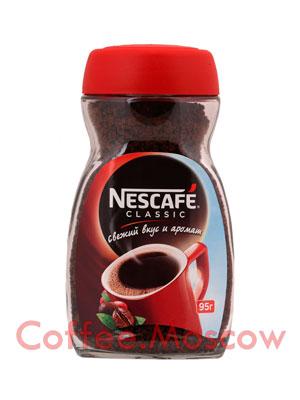 Кофе Nescafe Classic 95 гр с/б