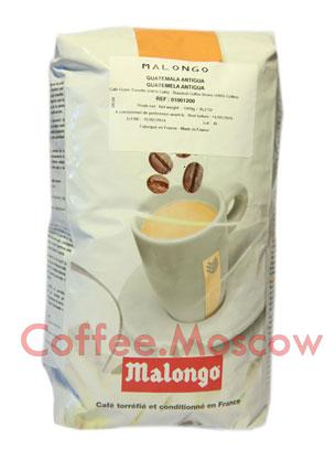 Кофе Malongo (Малонго) в зернах Guatemala Antigua 1 кг