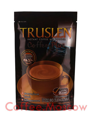 Кофе Truslen Coffee Plus 5 пакетиков по 16 гр
