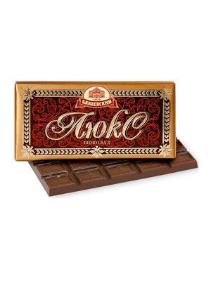 Шоколад Бабаевский Люкс 100 гр