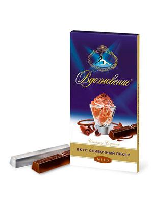 Шоколад Бабаевский Вдохновение сливочный ликер 100 гр