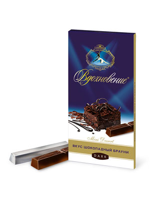 Шоколад Бабаевский Вдохновение Шоколадный брауни 100 гр
