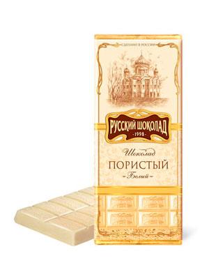 Шоколад Русский шоколад Белый пористый 90 гр