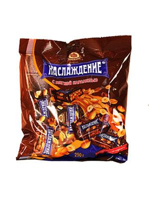 Конфеты Бабаевские Наслаждение с мягкой карамелью 250 гр