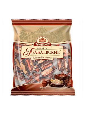 Конфеты Бабаевские Шоколадный вкус 250 гр
