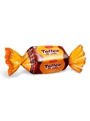 Конфеты Красный Октябрь Toffee de Luxe шоколад