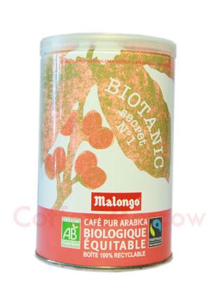 Кофе Malongo молотый Biotanic 250 гр (ж.б.)