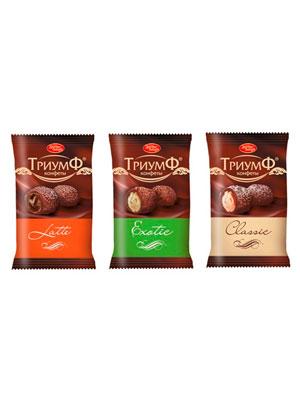 Набор конфет Красный Октябрь Триумф микс