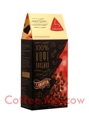 Кофе Amado Арабика молотый имбирем 150 гр
