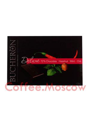 Шоколадные конфеты Bucheron Горький Фундук, Мята и Перец 95 гр