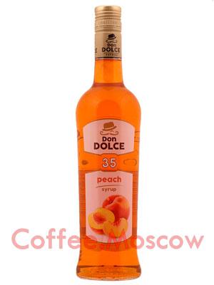 Сироп Don Dolce Персик 0.7 л