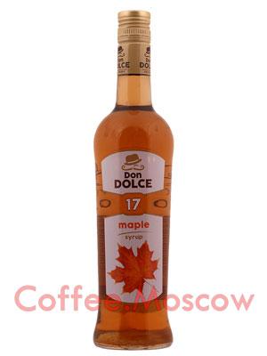 Сироп Don Dolce Кленовый 0.7 л