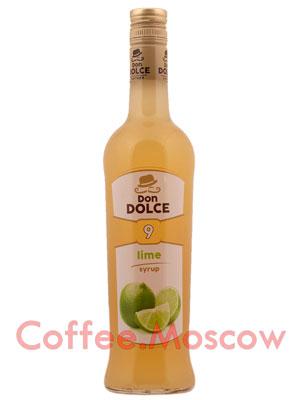 Сироп Don Dolce Лайм 0.7 л
