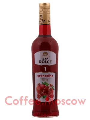 Сироп Don Dolce Гренадин 0.7 л