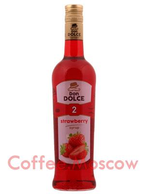 Сироп Don Dolce Клубника 0.7 л
