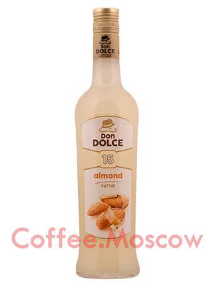 Сироп Don Dolce Миндаль 0.7 л