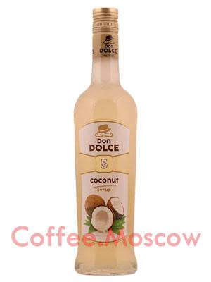 Сироп Don Dolce Кокос 0.7 л