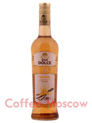Сироп Don Dolce Ваниль 0.7 л
