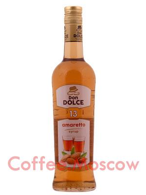 Сироп Don Dolce Амаретто 0,7 л