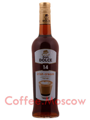 Сироп Don Dolce Ирландский крем 0.7 л