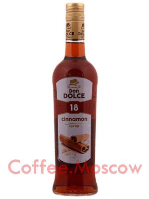 Сироп Don Dolce Корица 0.7 л