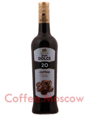 Сироп Don Dolce Кофейный 0,7 л