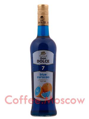 Сироп Don Dolce Блю Кюрасао  0.7 л