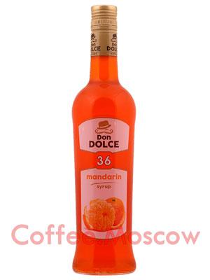 Сироп Don Dolce Мандарин 0.7 л
