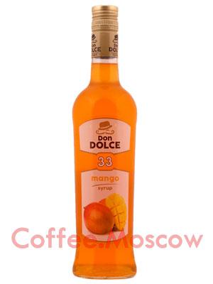 Сироп Don Dolce Манго 0.7 л