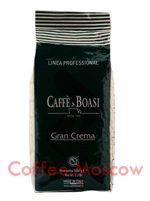 Кофе Boasi в зернах Gran Crema Professional