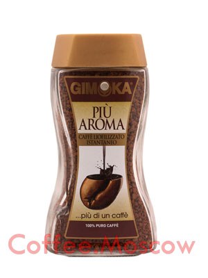 Кофе Gimoka растворимый Piu Aroma 100 гр