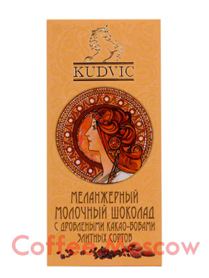 Шоколад Kudvic Молочный шоколад 90 гр