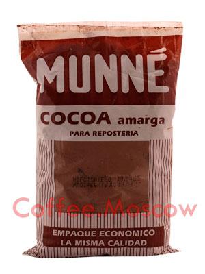 Натуральный какао Munne Amarga, пакет 453,6 гр (без сахара)